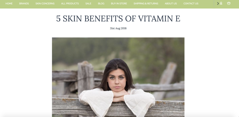 5 skin benefits of Vitamin E Plunkett's