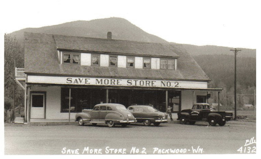 A Restoration Renovation... - We're working hard to restore one of Packwood's earliest landmarks, transforming it into something new and exciting. Built in 1933, the Save More Store No. 2 was a local necessity. As we strip away the layers from decades of remodels, we take this historical building back to it's roots to create a hoppin'new gathering place for family, friends, and visitors alike.