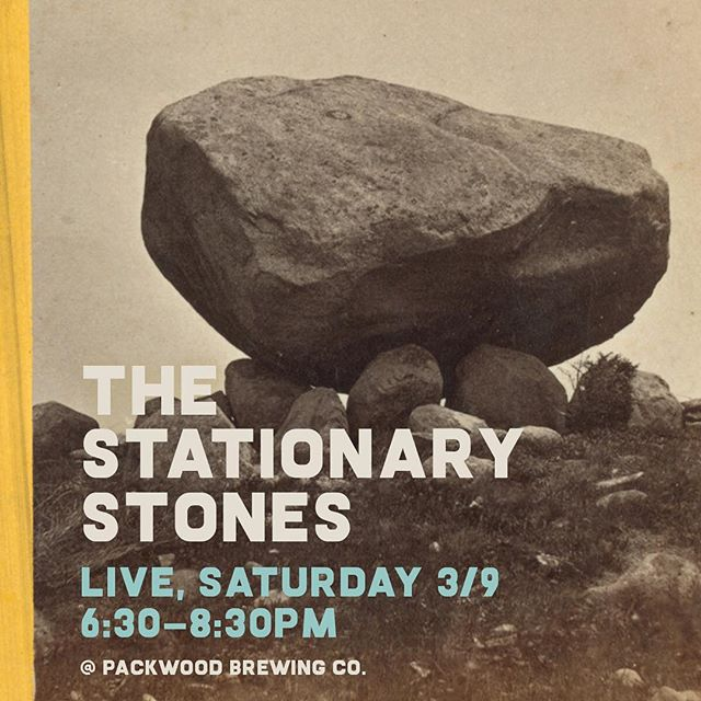 Saturday night is going to ROCK! 🎶🍻Come listen to The Stationary Stones play live tomorrow from 6:30-8:30pm at PBC!  #packwoodbrewingco #packwoodwa #discoverlewiscounty #whitepassscenicbyway #packwood #livemusic #destinationpackwood #thestationarystones  Insert puns here...