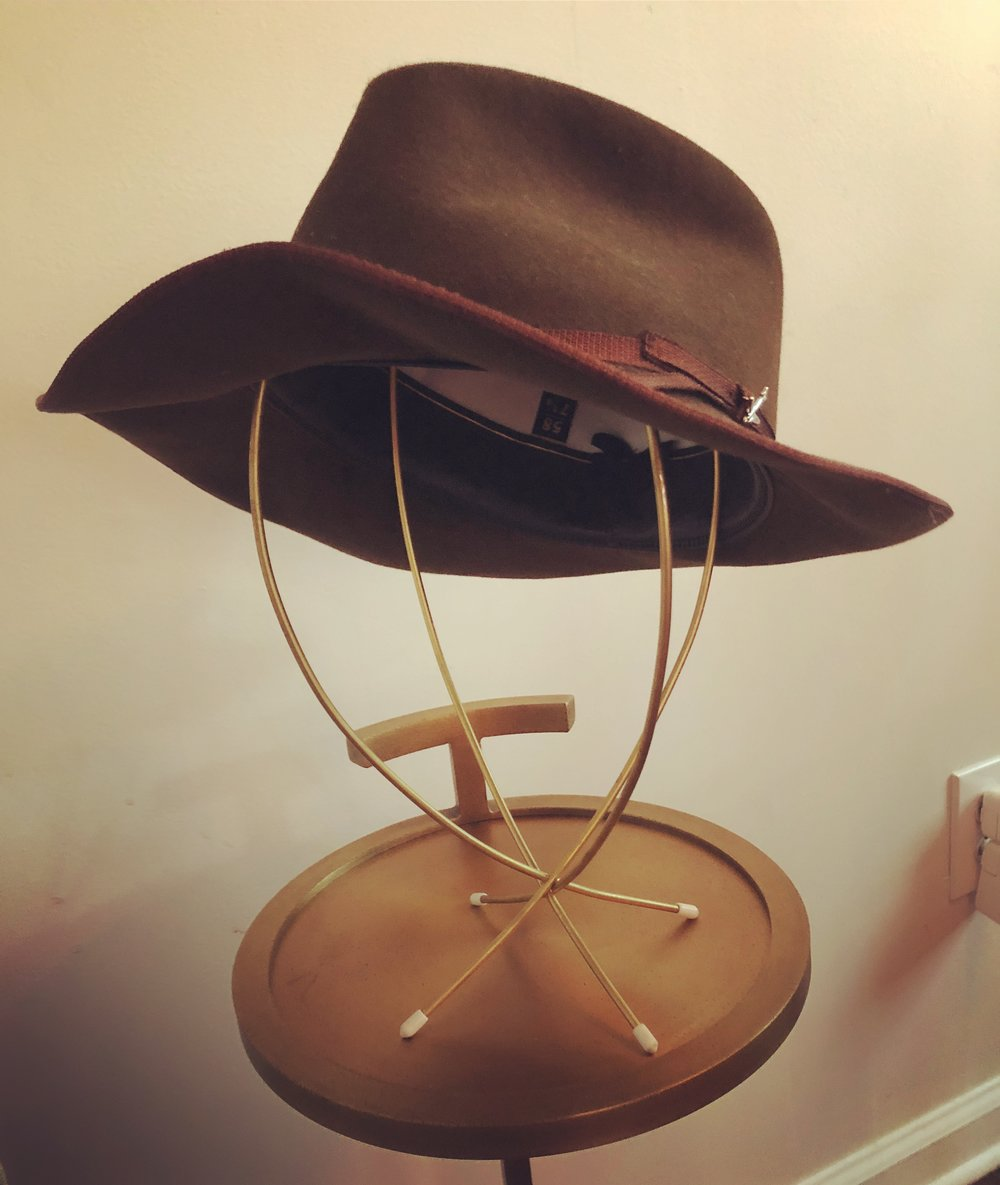 My first Stetson.