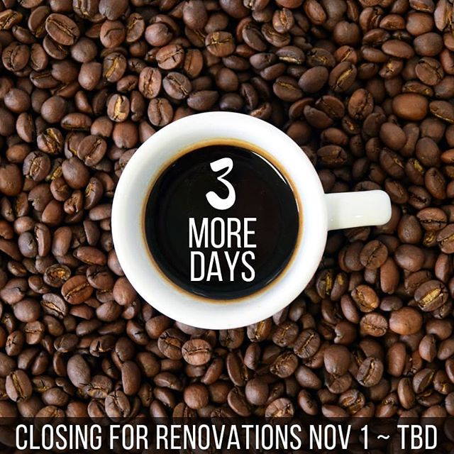 Bitter sweet news guys. We have some big and exciting changes coming to The Coop, but that means we've gotta shut down for a while… We'll be closed for renovations from this Thursday, November 1 for a few weeks. Spread the word and stay tuned - we'll be announcing our grand re-opening as soon as we have a better idea of the time frame!! But for now, come on in, you've got THREE MORE DAYS to work, play, eat, and drink your heart out at The Coop!! . . . . . #thecoopbayridge #bayridge #bayridgebrooklyn #brooklynnyc #coffeelover #coffeeaddict #butfirstcoffee #closedforrenovations #closingsoon #brooklyneats #bkeats #brooklynrestaurant #brooklynrestaurants #dykerheights #bensonhurst #forthamilton #statenisland #nyceats #instacoffee #coffeebeans #coffeeart