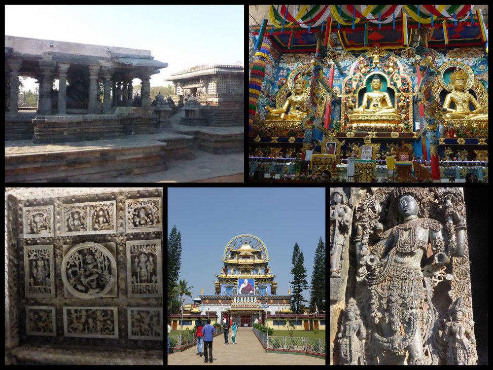 Bylakuppe Halebid India