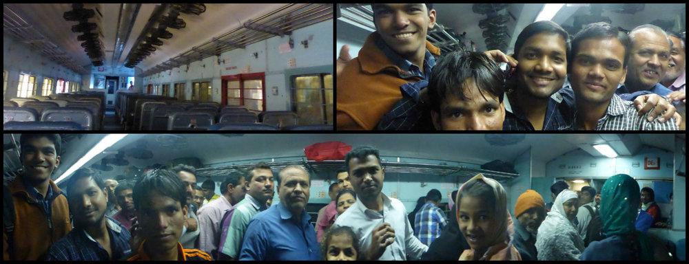 India Train Trip