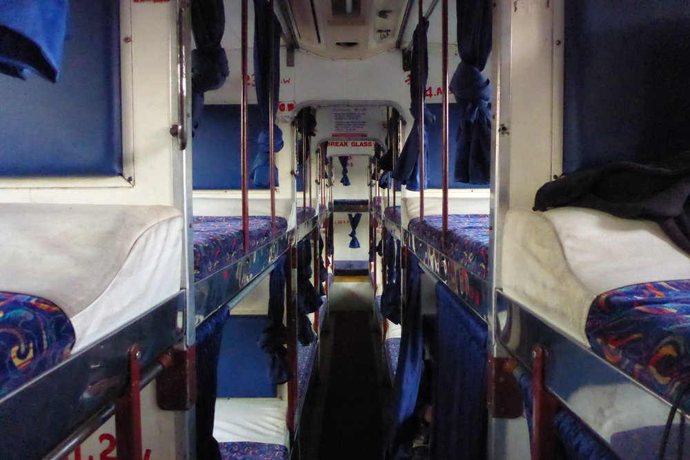 Private Sleeper Bus India