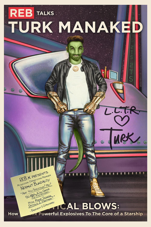 Poster designed by Rebel illustrator  Steve Dressler