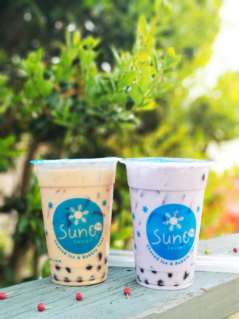 bubble teas -