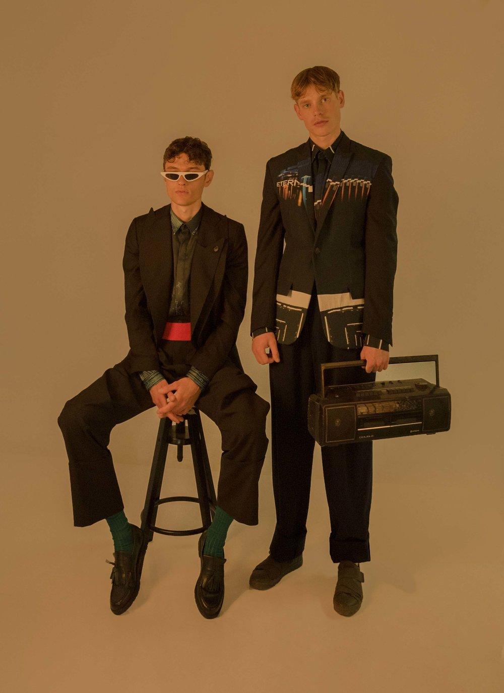 Photography  Ria Mort  Models  Giorgos Papadimitriou  and  Bogdan Luşmanschi