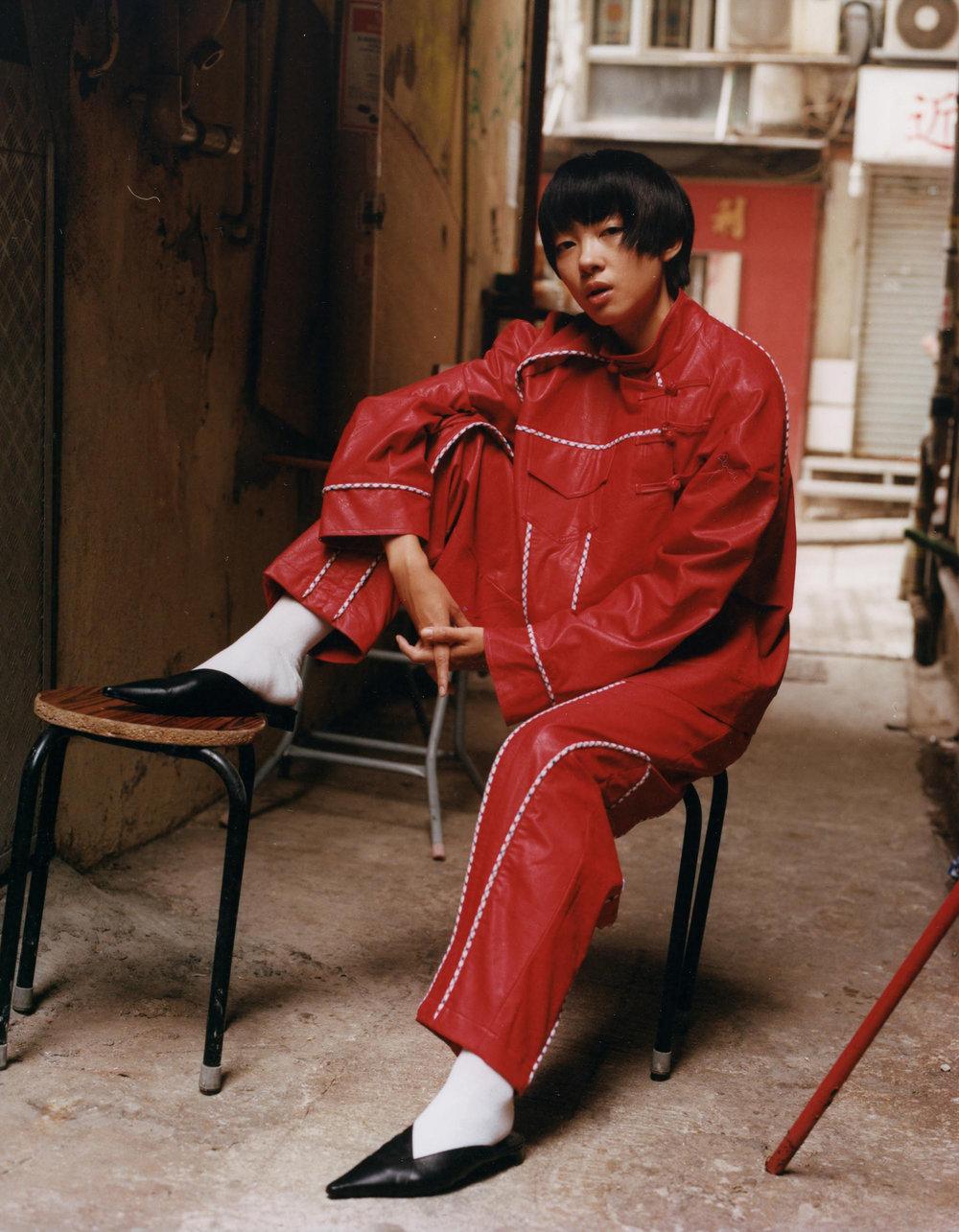 Fashion by  SK Tang  Photography by  Olya Oleinic  Model  Yushukpui Bobby  Makeup Artist  Ka Ho Cheng