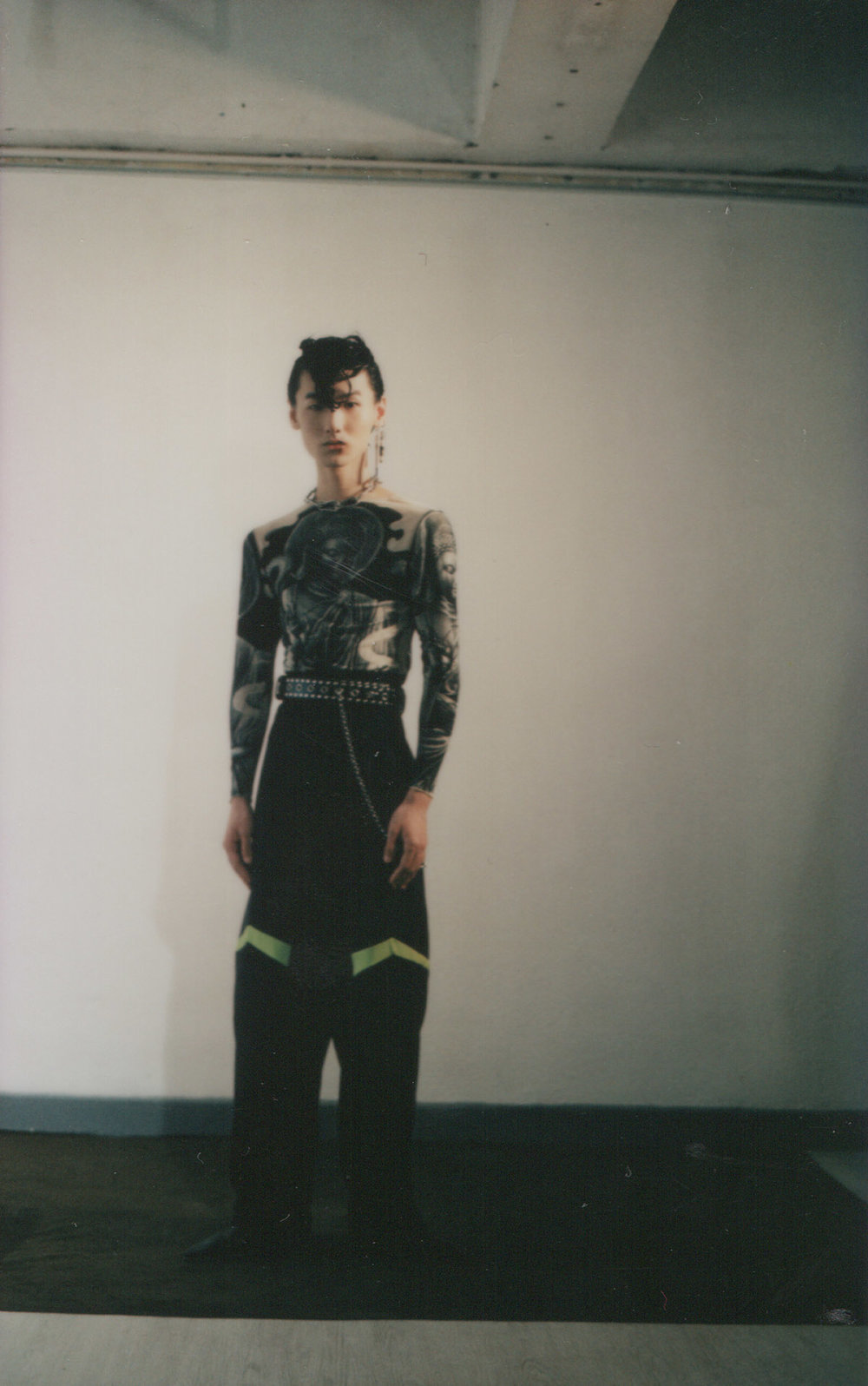 Fashion by  SK Tang  Photography by  ISSAC LAM  Model  Dominik Huang  Makeup Artist  Heisan Hung