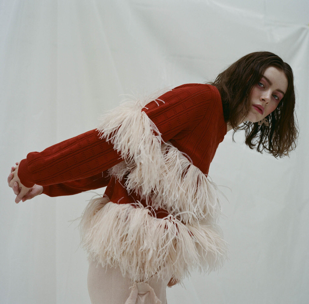 Photography  Gaia Bonanomi  Styling  Michele Previsani  Model  Léa Bonneau