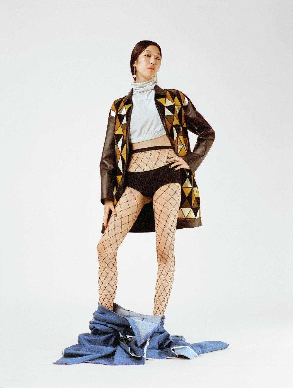 Photography by  Nina Raasch  Fashion by  Charlotte Gindreau  Hair and Makeup  Katja Maassen  Model  Yuan