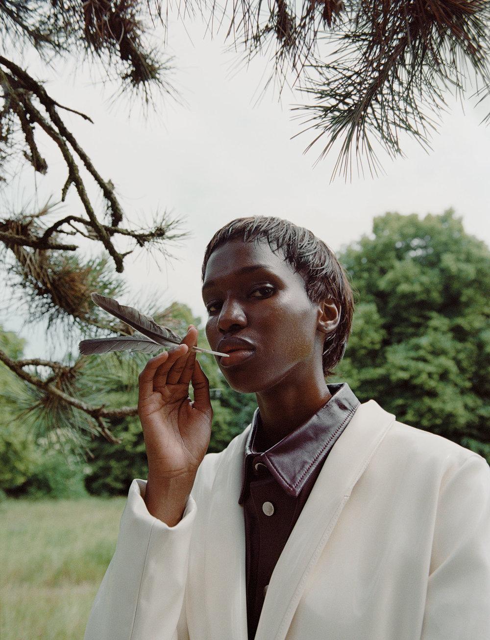 Photography by   Duljak Bergstrand   Fashion by   Tine Kozjak     Hair Stylist     André Cueto-Saavedra     Makeup Artist     Thomas Lorenz   Model     Tiah Bee