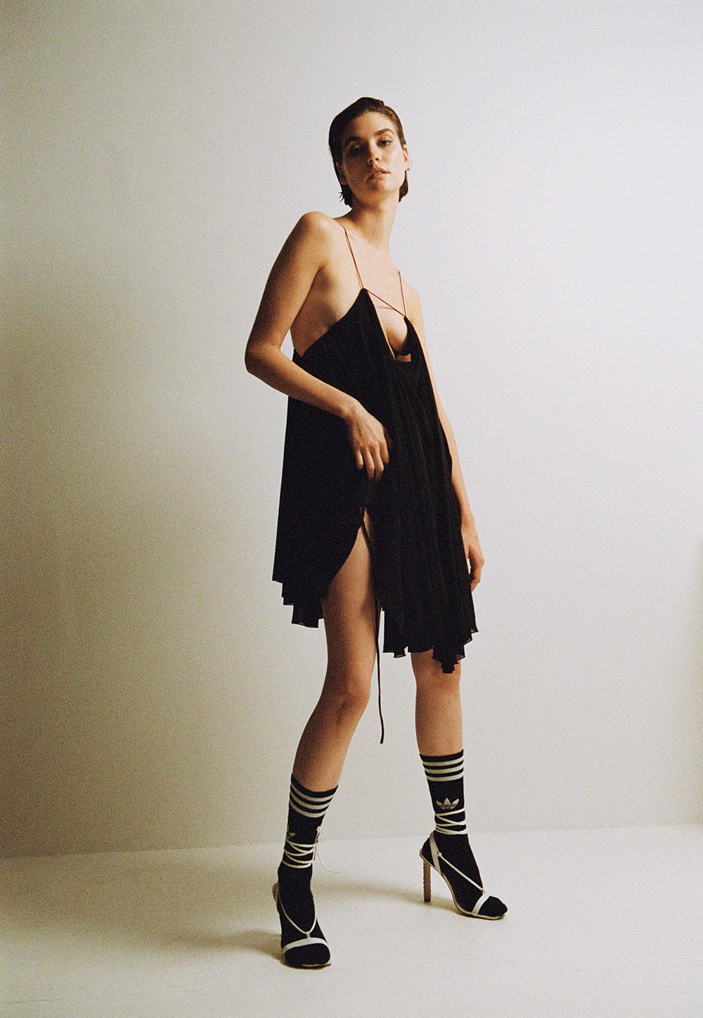Photography by   Duljak Bergstrand   Fashion by   Dan Sablon     Art Direction by     Eric Beckman     Makeup by  Phophie Mathias     Hair by   Yoann Fernandez     Model   Manon Leloup