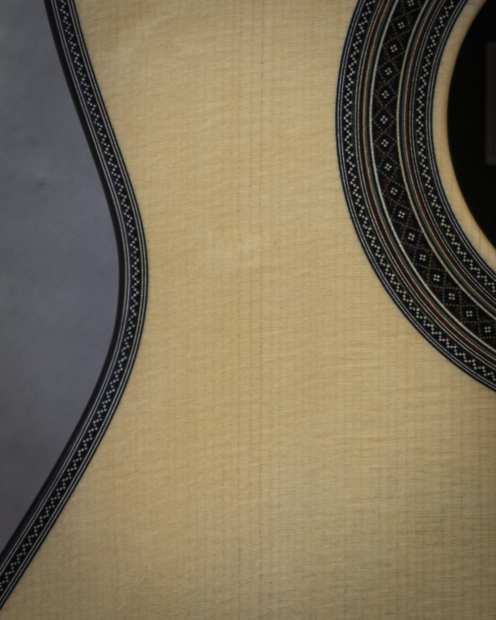 Rosette und Zierspäne des Simplicio-Modells