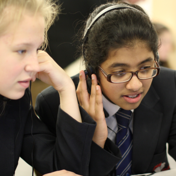 Seriously Entertainment - Code4Youth workshop for 50 middle school students (Spring 2016, Norwich, UK)