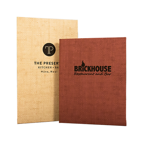ALL PRODUCTS — Risch Custom Imprinted Menu Covers