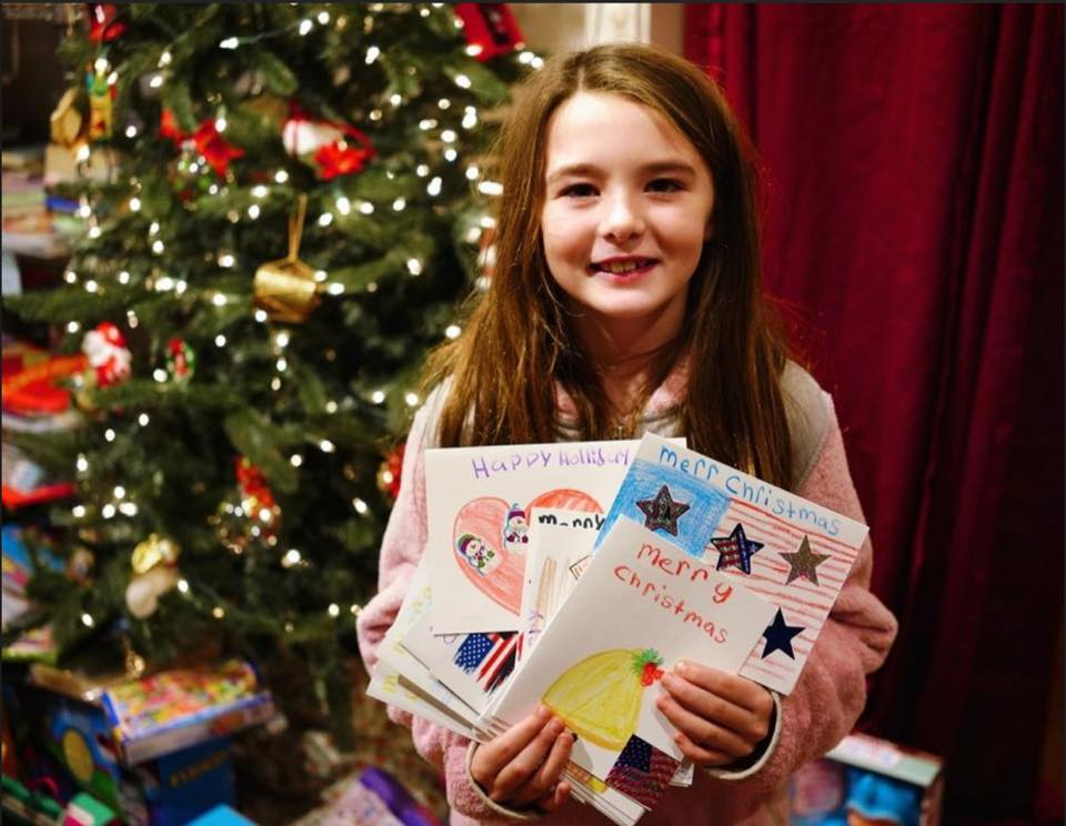 Touching Christmas project targets Scituate veterans - Read more about why, how, and who helped us pull this incredible effort off, with over 600 handmade cards delivered!