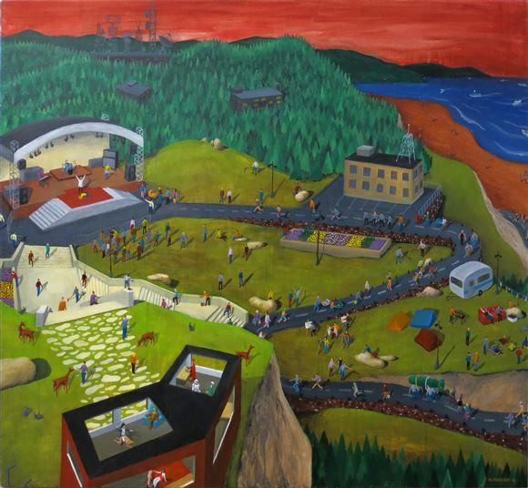 Staš Kleindienst, Miracle Mountain. Photo: Gallery SLOART