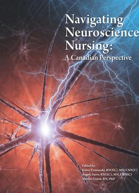 """Navigating Neuroscience Nursing: A Canadian Perspective"" click image for info to purchase"