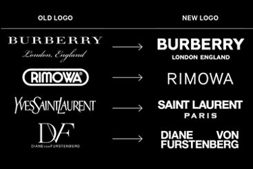 Source: https://www.bloomberg.com/news/articles/2018-11-20/why-fashion-brands-all-use-the-same-style-font-in-their-logos