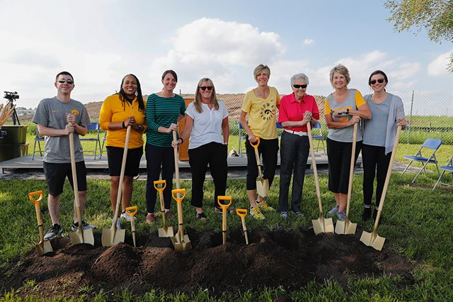 Congratulations to former women's athletics director Dr. Christine Grant who was honored today at the groundbreaking for the new Christine Grant Elementary School in North Liberty. Grant was nominated for the honor by head women's basketball coach Lisa Bluder. (Brian Ray/hawkeyesports.com) #fightforiowa #hawkeyes @iowawbb @lisabluder