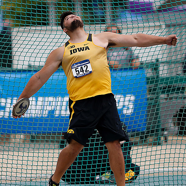 If Friday wasn't one of the greatest days in University of Iowa track and field history, it had to be close. #NCAATF #Hawkeyes (📷Darren Miller/hawkeyesports.com)