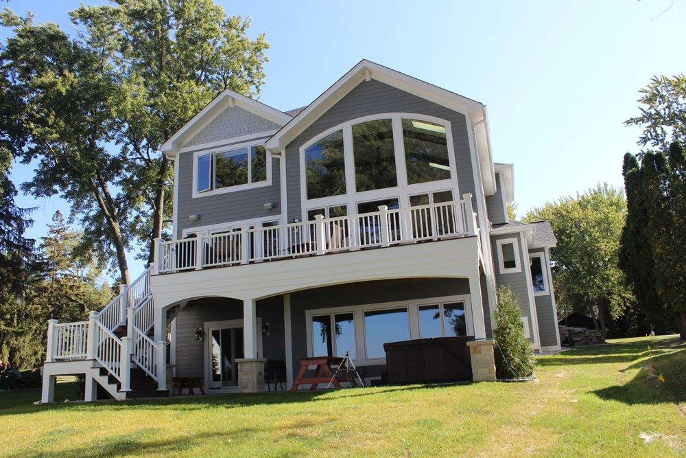 Pewaukee Lake Legacy - Custom Home