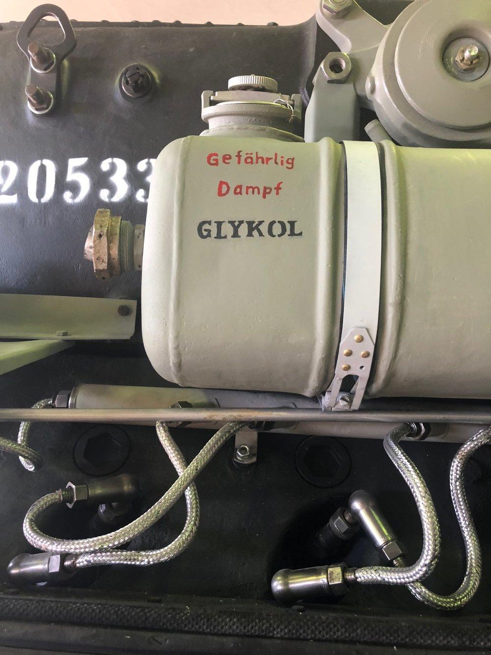 Tank-glykol