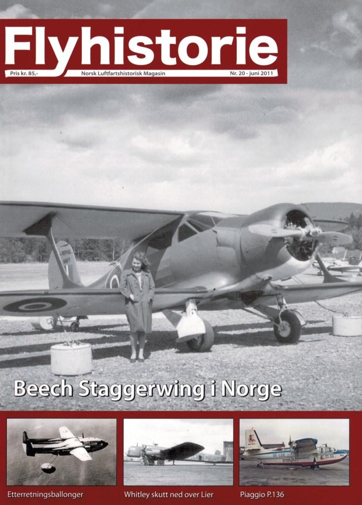 Flyhistorie 20 - - Fw 200 Condor i Norge 1941-1946- Beechcraft modell 17 Staggerwing i Norge- Etterretningsballonger under den kalde krigen- Whitley skutt ned over Lier- Oxford-vinger til Danmark- Piaggio P.136 - et amfibium med en kort norsk historie- Modellfly - de Havilland Canada Twin Otter- Muzeum Lotnictwa Polskiego i Krakow- Vinterkamuflasje i 1940