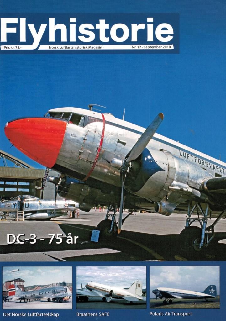 Flyhistorie 17 - - Historikk om DC-3- DC-3 i Norge 1939-45-