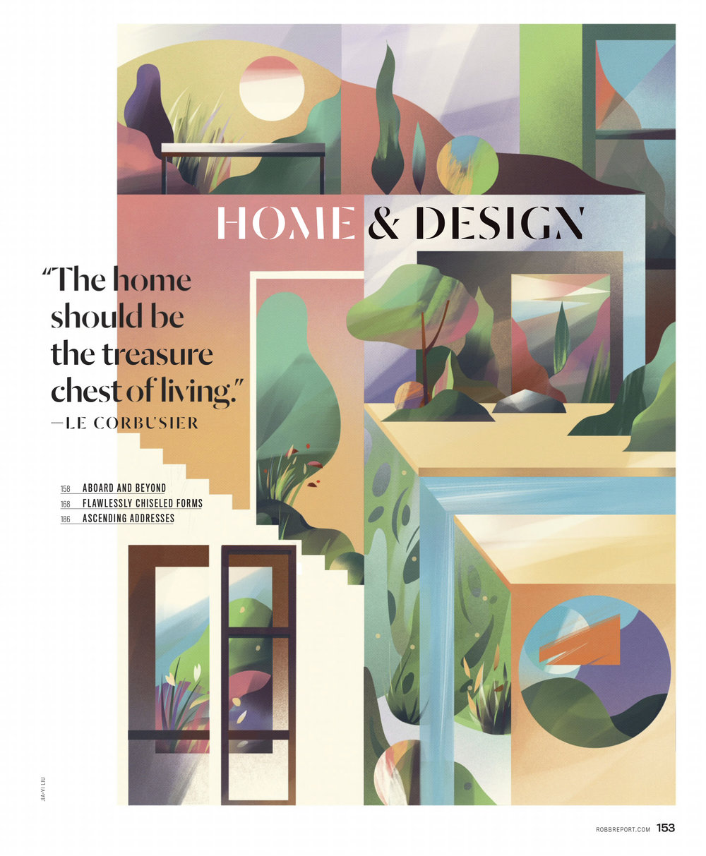 """Home & Design"" (Client: Robb Report)"