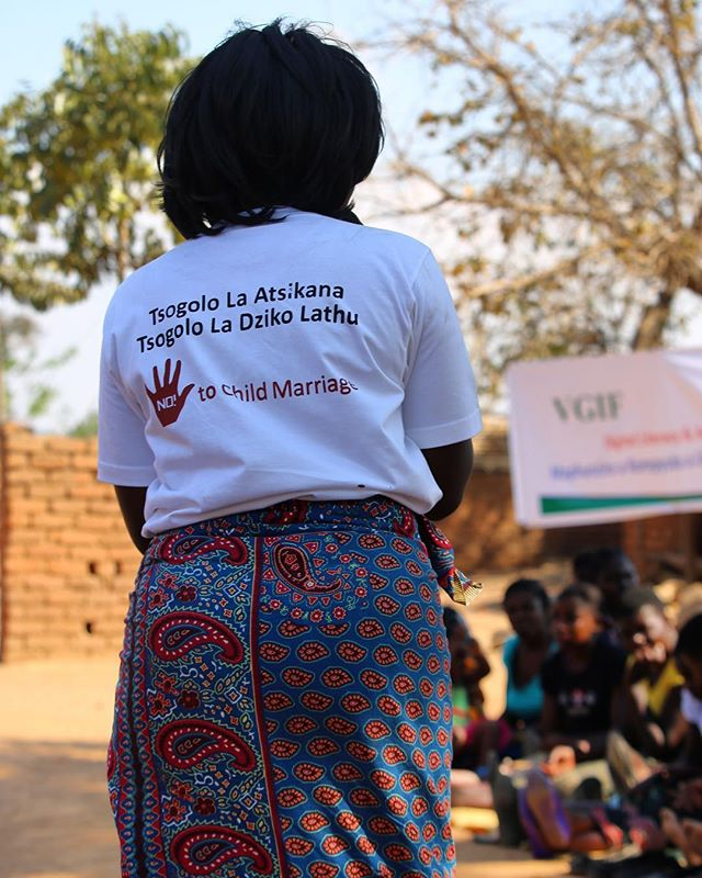 In 2017, UNICEF estimated that 9% of Malawi girls were married before the age of 15, and 42% of girls were married before the age of 18. These numbers equate to almost 1 in 2 girls married before the age of 18 in Malawi.  VGIF grantee partner, TAWINA, is combating child marriage by increasing girls' computer and internet skills so they can better educate themselves, their peers and their community on newly enacted laws protecting young girls from child marriage and other forms of gender-based discrimination and violence in Malawi.#endchildmarriage#malawi#vgif#empoweringgirls