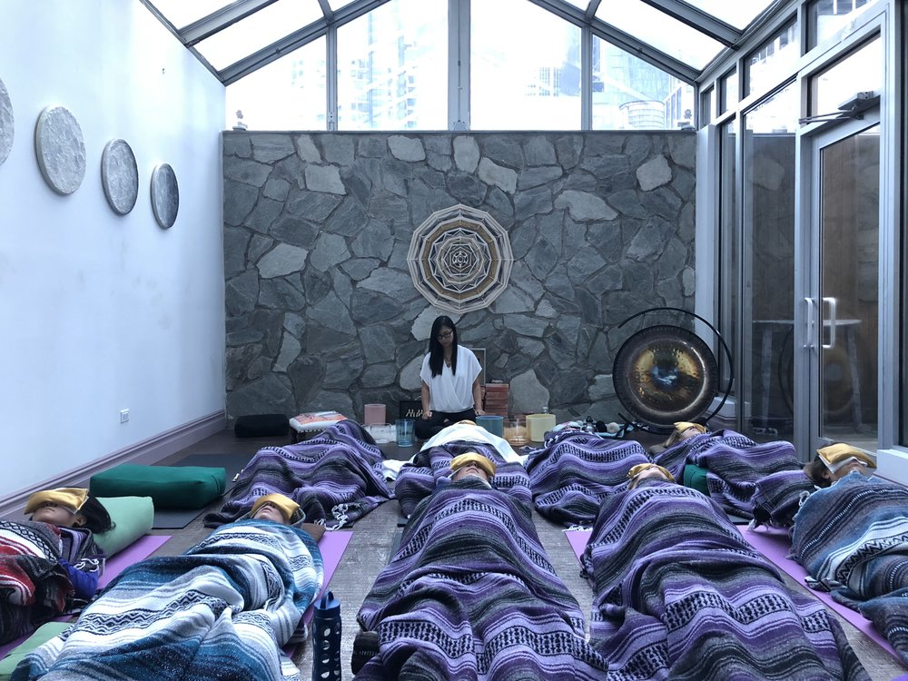 Oct 14: Aromatherapy Sound Bath at Floating Lotus -