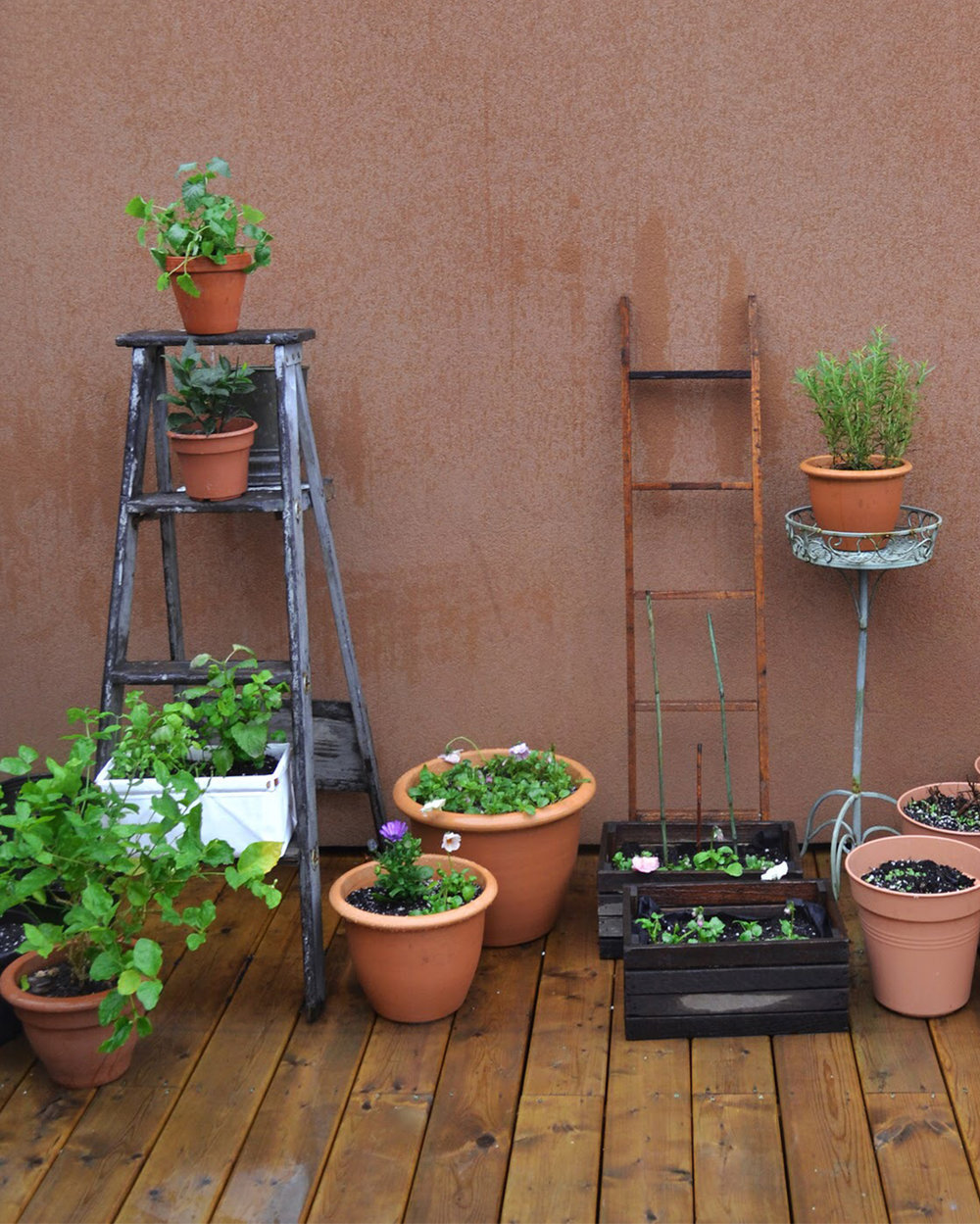 Patch Planters  can be used outdoors