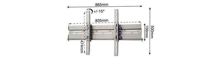 """Signature-Series---Plasma--LCD--LED-hook-on-with-tilt-65""""-diagram.jpg"""