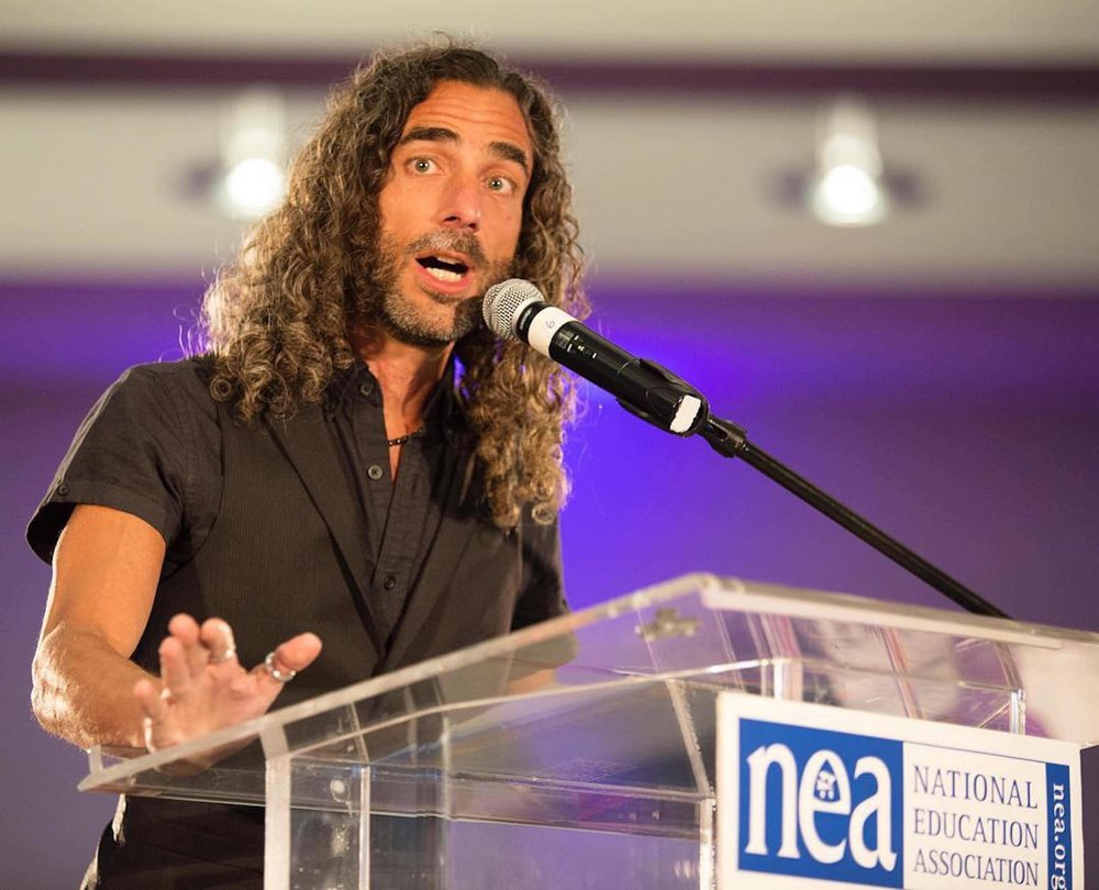 Robt Seda-Schreiber speechifyin' @ NEA Conference on Racial & Social Justice.jpg