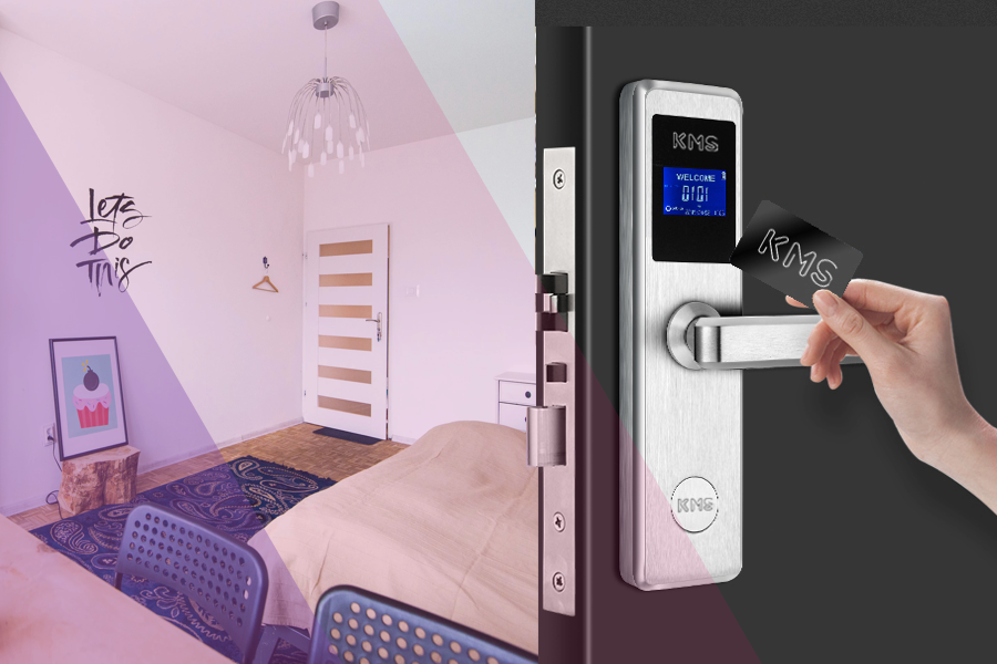 Smart Door Lock Solutions - Using the latest smartphone technology, developed from banking app security, this innovative product will change the way guests enter your hotel and rooms forever.Suitable for use across both internal and external environments and on a variety of surfaces, Smart Door Lock adheres to the highest security standards to keep your property, your guests and their belongings safe - whilst looking pretty cool at the same time. And best of all - it can be retrofitted.