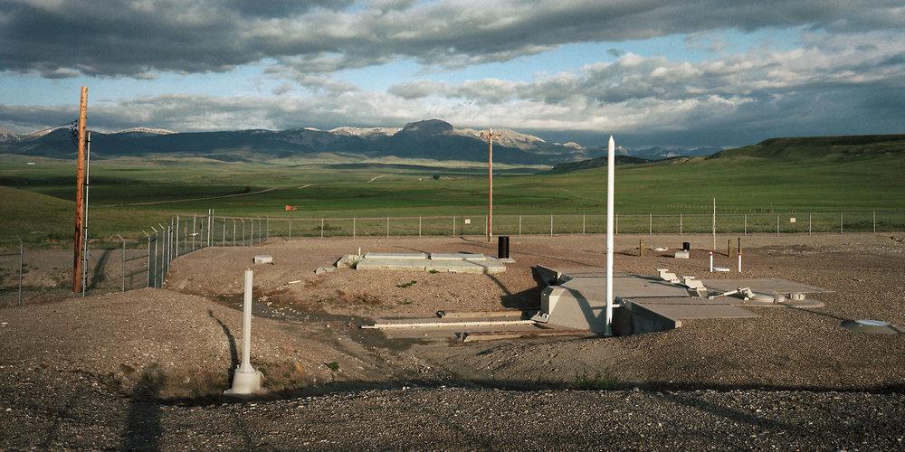 Minuteman III silo F-10, MT, 2001.