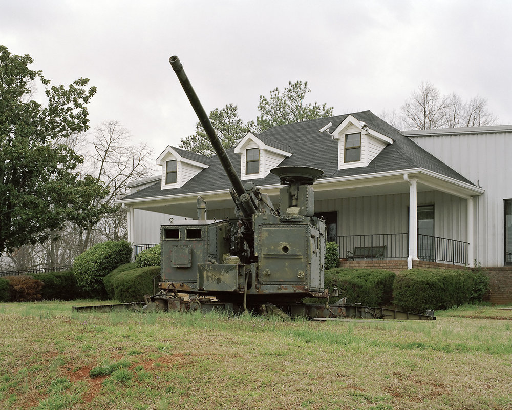 Artillery, American Legion Post 127, Buford, Georgia 2008.