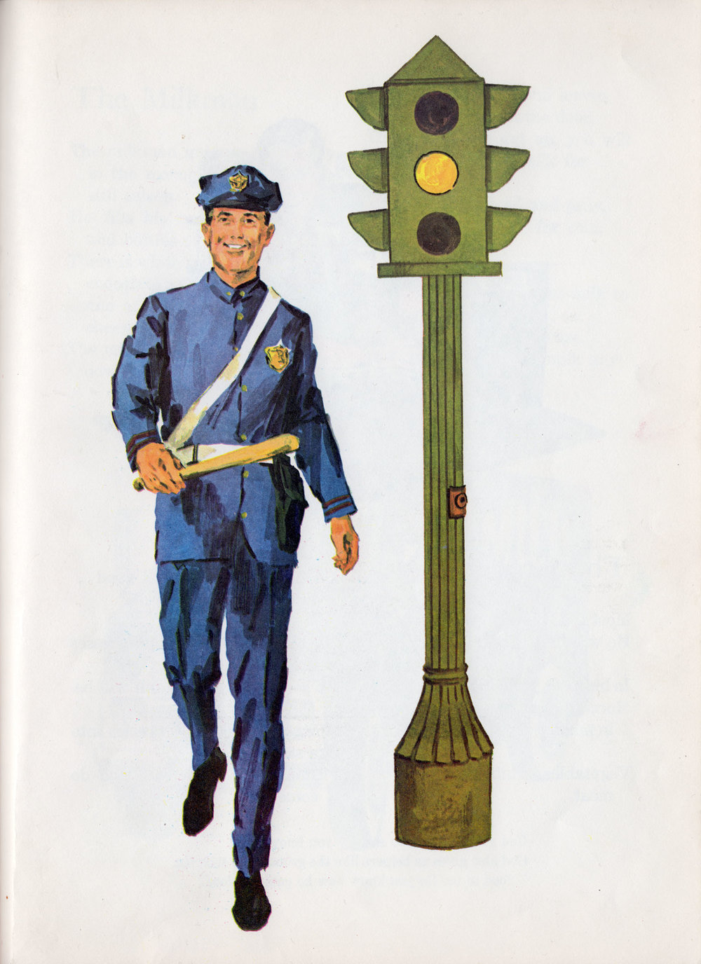 John Ham, Our Helpers, Ruth Shannon Odor, Standard Publishing Co., Cincinnati, 1968 illustration