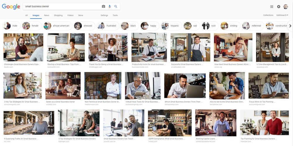 """Google Image results for """"Small Business Owner"""""""