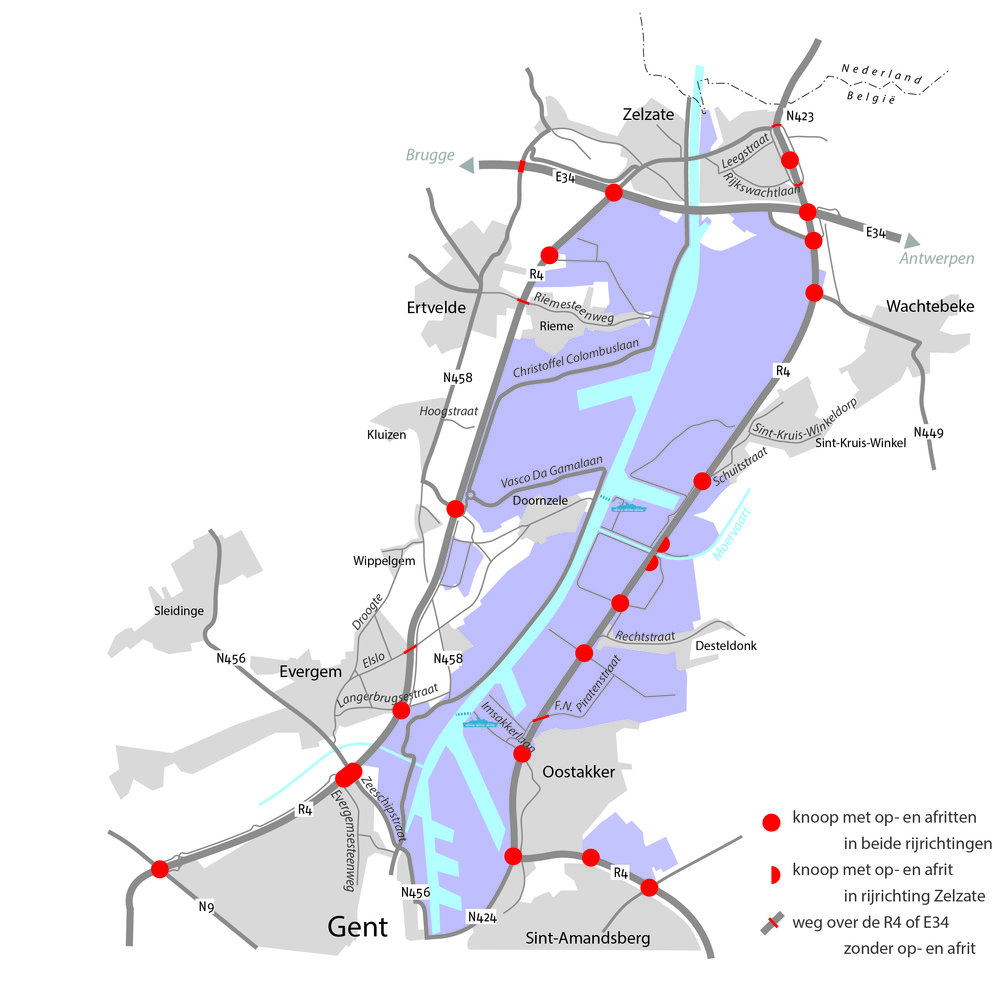 kaartje autoverkeer op de R4 (zie Word).jpg