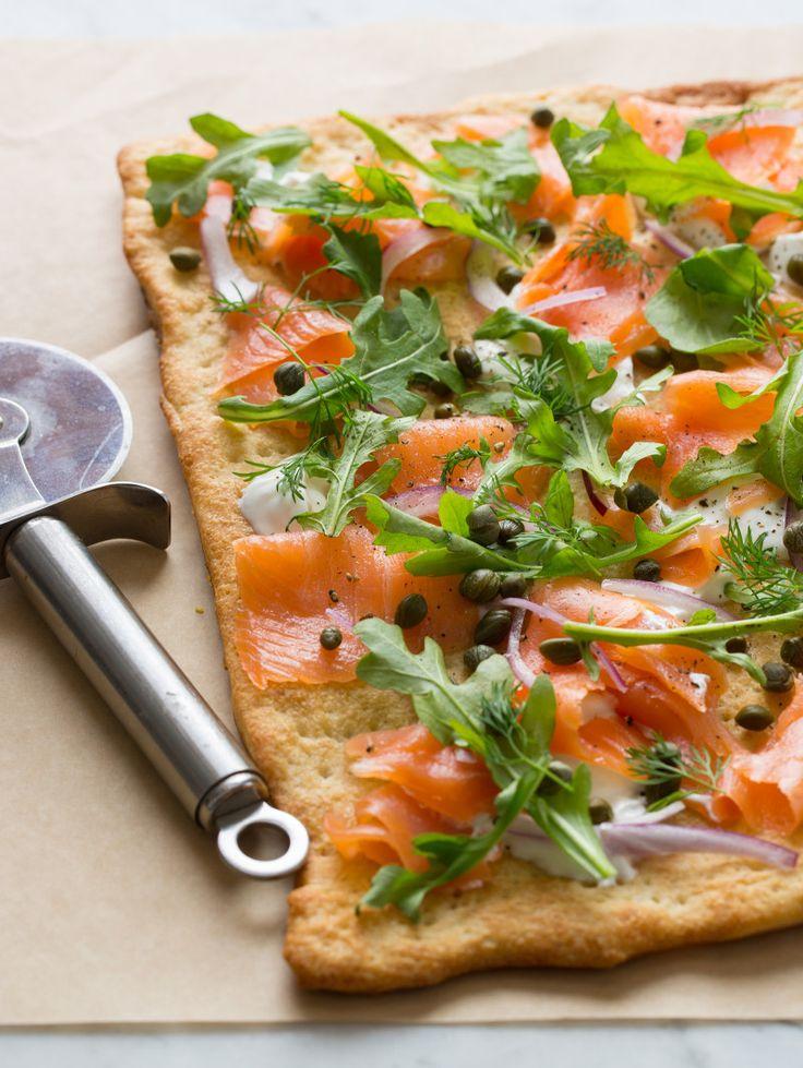 smoked salmon pizza 3