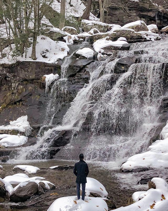 36 hours in the Catskills after the first snowfall of the year ❄️⛄️