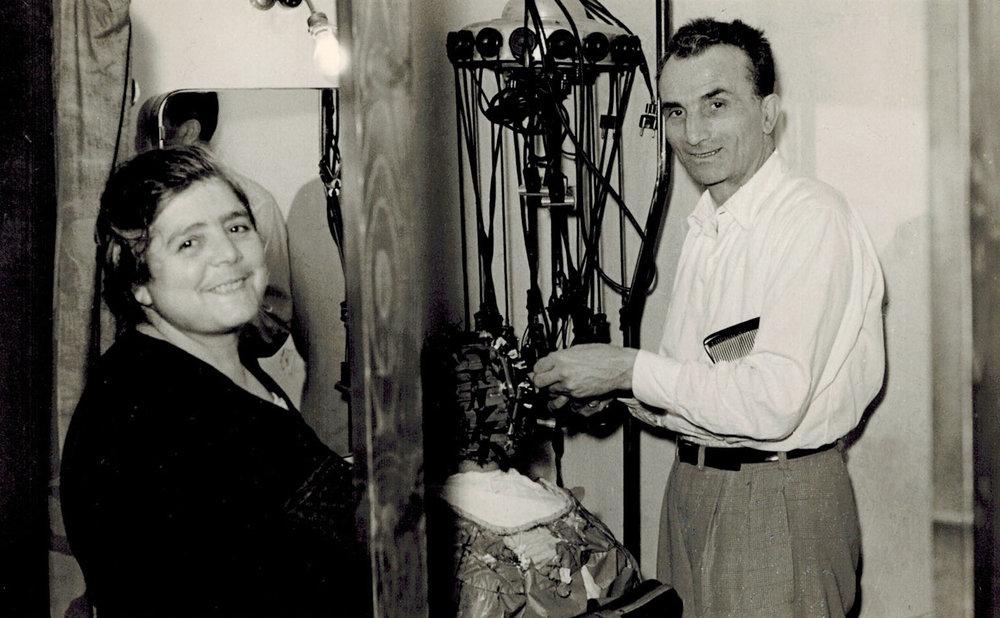 Nicola and Concetta Venere. (Grandparents) c. 1956
