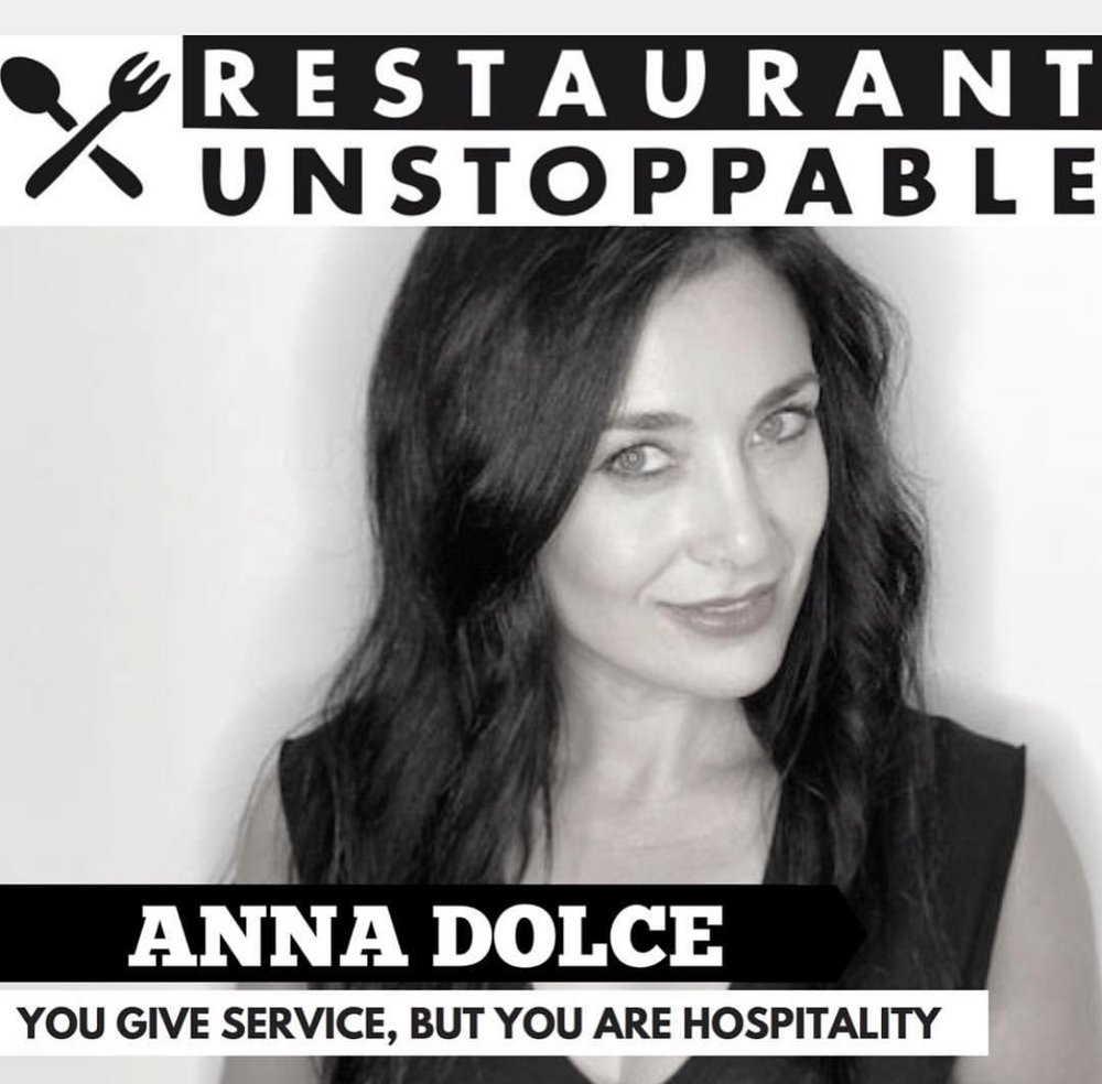 "Anna Dolce: ""You Give Service, But You ARE Hospitality"" - June 8, 2018"