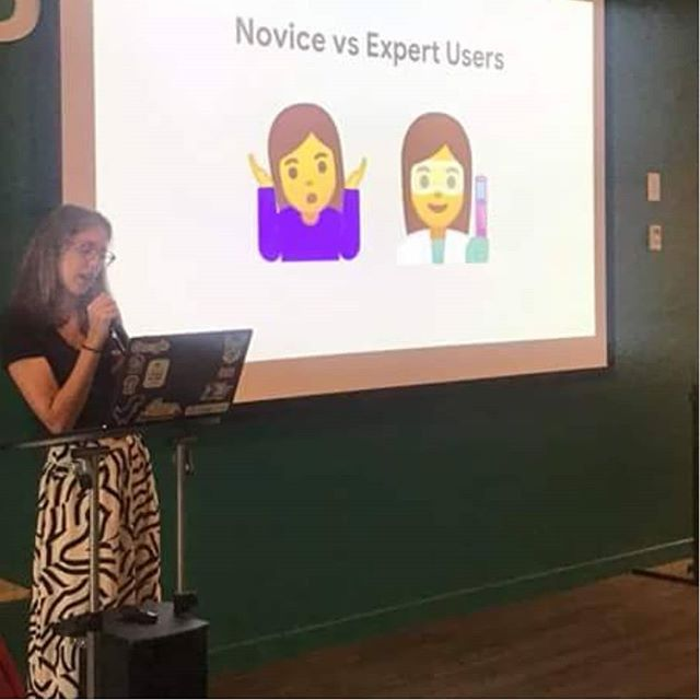Thanks to @mustrock for inviting me to speak at Pivotal Labs! The UX of democratizing AI 🤖