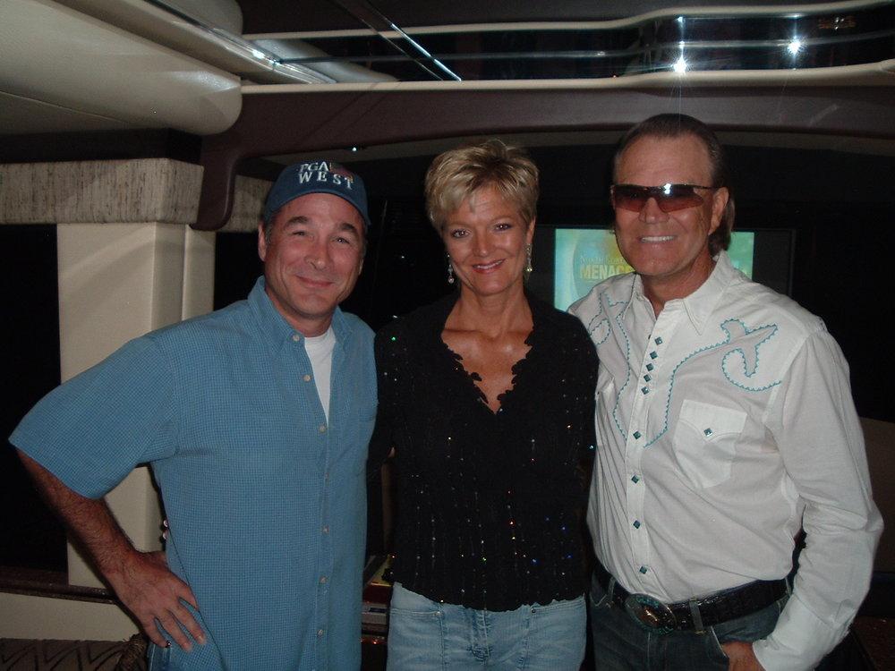 Clint Black, Debby, Glen