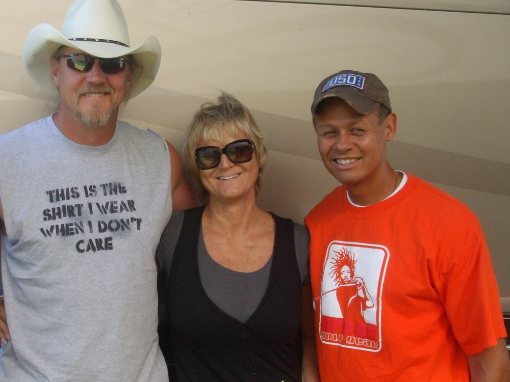Trace Adkins, Debby and Neal McCoy