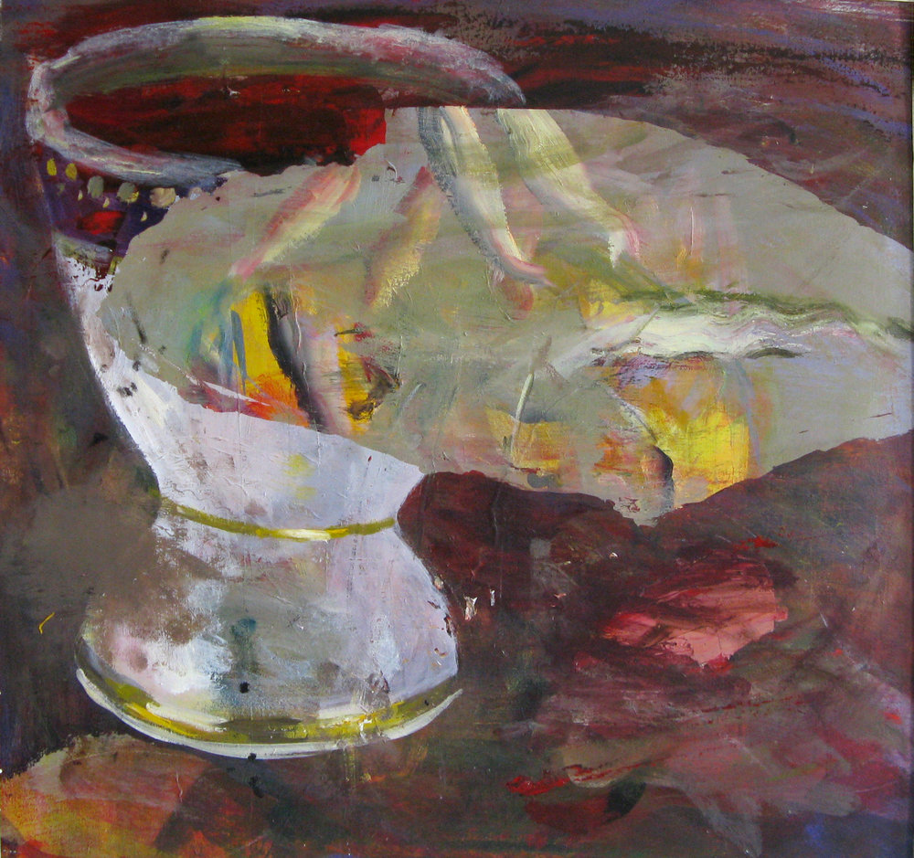 "Chalice and Fish 30"" x 32"""